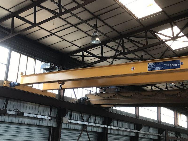 pont roulant bipoutre occasion 6.3 tonnes