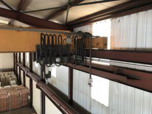 pont roulant posé 10 tonnes occasion