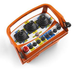 Radiocommande industrielle ELCA type M